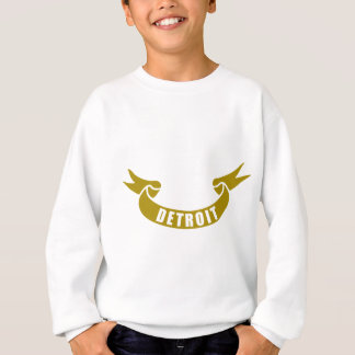 real-tape-Detroit Sweatshirt
