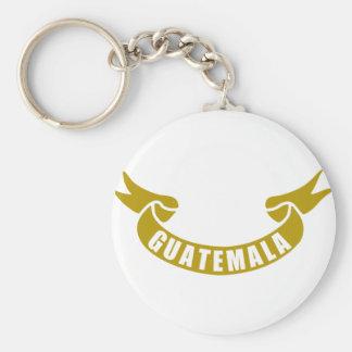 real-tape-guatemala key ring