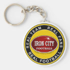 Real Team, Real Fans, Real Football Pittsburgh Key Ring