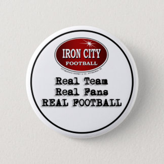 Real Team Real Fans Real Football Pittsburgh Pin