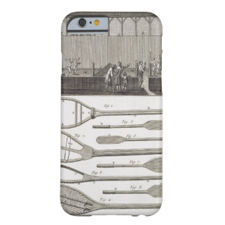 Real tennis and the construction of racquets, from barely there iPhone 6 case