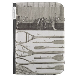 Real tennis and the construction of racquets from kindle keyboard covers