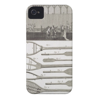 Real tennis and the construction of racquets, from Case-Mate iPhone 4 case