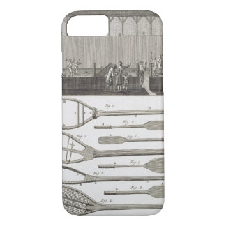Real tennis and the construction of racquets, from iPhone 8/7 case