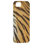 Real Tiger Fur Stripes iPhone 5 Case