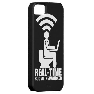 Real-time social networker iPhone 5 cover
