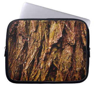 Real Tree Bark Laptop Sleeve