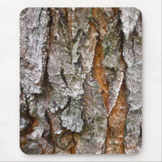 Real Tree Bark Texture Mouse Mat
