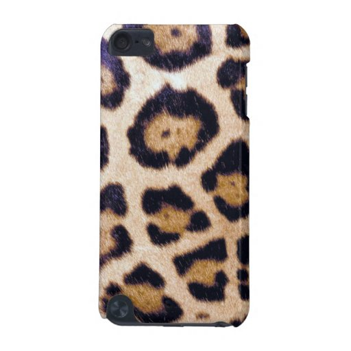 Real Wild Leopard Cat Print Custom iPod Touch Case