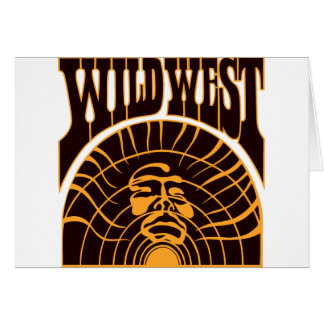 Real Wild West Indian Style Card