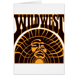 Real Wild West Indian Style Greeting Card