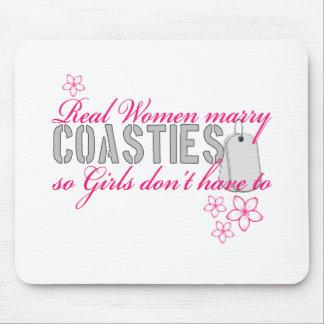 Real Women Coasties Mouse Mat