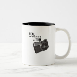 Real women do it on film mug