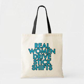 Real women drive stick shifts