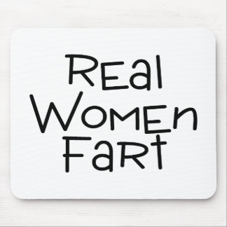Real Women Fart Mouse Mat