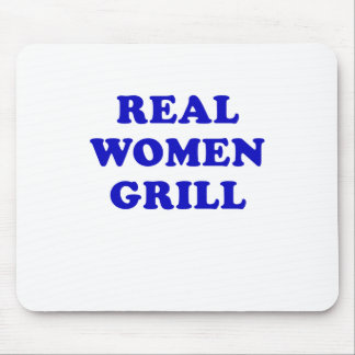 Real Women Grill Mouse Pads