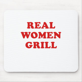 Real Women Grill Mouse Pad