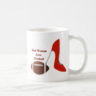 Real Women Love Football Mug