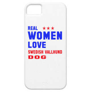 Real women love Swedish Vallhund dog Barely There iPhone 5 Case