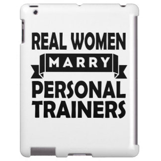 Real Women Marry Personal Trainers iPad Case