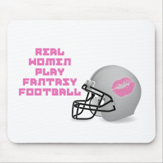 Real Women Play Fantasy Football Mouse Mat