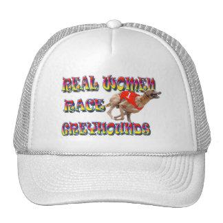 Real Women Race Greyhounds 2 Cap