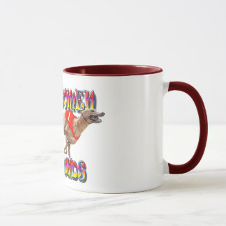 Real Women Race Greyhounds 2 Mug