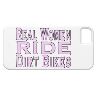 Real Women Ride Dirt Bikes iPhone 5 Cover