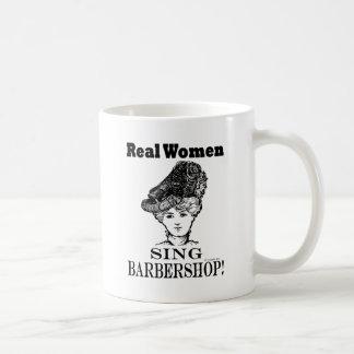 Real Women Sing Barbershop Coffee Mug