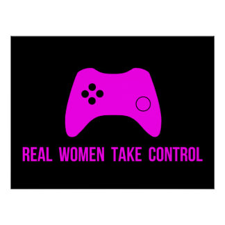 Real Women Take Control Print