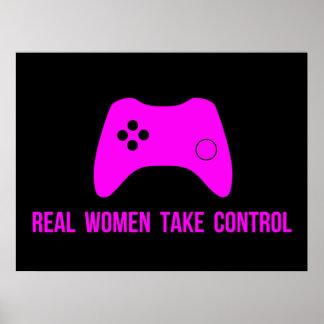 Real Women Take Control Poster