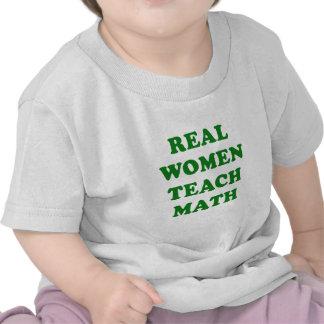 Real Women Teach Math Shirt
