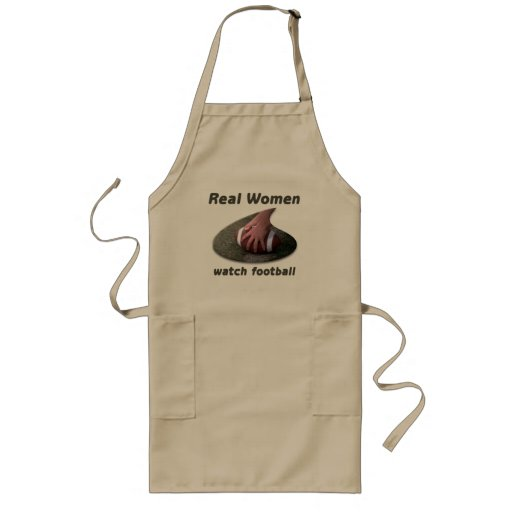 Real Women watch football #2 Apron