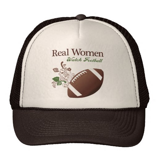 Real women watch football hats