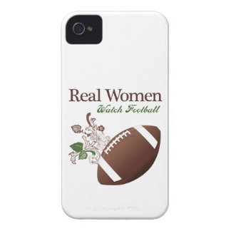 Real women watch football iPhone 4 cases