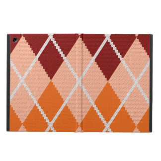 Realistic Argyle Cloth Cover For iPad Air