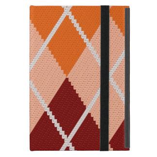 Realistic Argyle Cloth Covers For iPad Mini
