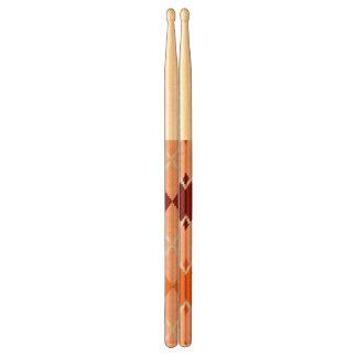 Realistic Argyle Cloth Drumsticks