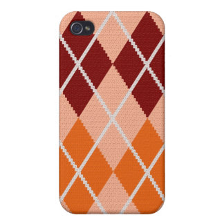 Realistic Argyle Cloth iPhone 4/4S Cover
