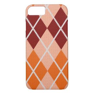 Realistic Argyle Cloth iPhone 8/7 Case