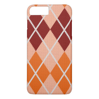 Realistic Argyle Cloth iPhone 8 Plus/7 Plus Case