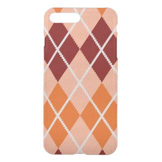Realistic Argyle Cloth iPhone 8 Plus/7 Plus Case