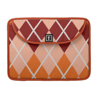 Realistic Argyle Cloth Sleeve For MacBook Pro