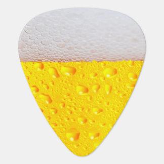 Realistic Beer Guitar Pick