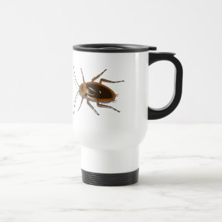 Realistic Brown Cockroach Insect Stainless Steel Travel Mug