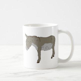 Realistic Cartoon Donkey Mugs