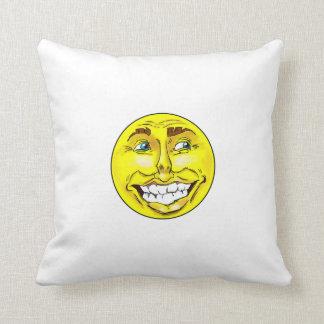 Realistic Emoji Happy Face Punching Bag Cushion