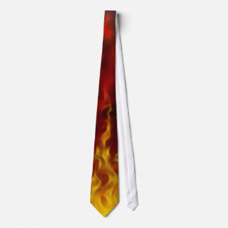 Realistic Flame Tie