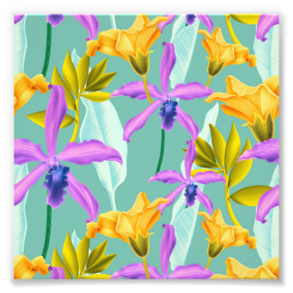 Realistic Flowers Pattern #3 Photograph