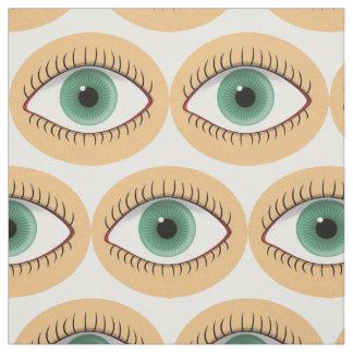 Realistic Funny Human Eye Fabric